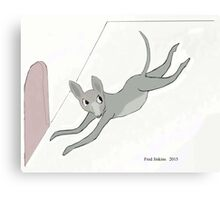 Mouse Escape Canvas Print