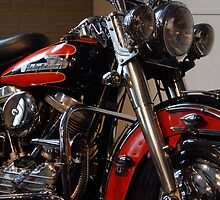 The motorcycle as art: Harley - Davidson FLH (1958) by John Schneider