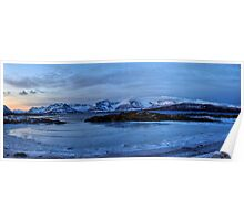 Panorama Northern Norway Poster