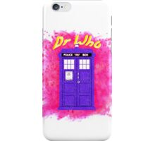 Doctor Who 3 iPhone Case/Skin