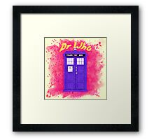 Doctor Who 3 Framed Print