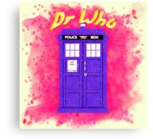 Doctor Who 3 Canvas Print