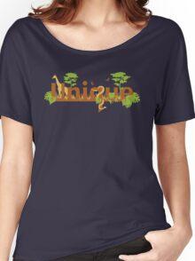 Unique planet safari design Women's Relaxed Fit T-Shirt