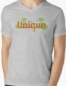 Unique planet safari design Mens V-Neck T-Shirt