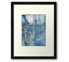 A City Collapses Framed Print