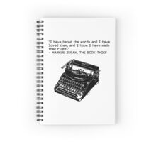 Most motivational writing quote tbh Spiral Notebook