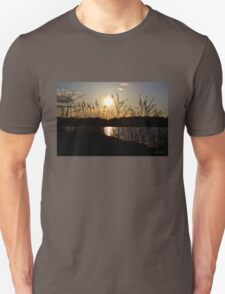 Day's End by the River Unisex T-Shirt