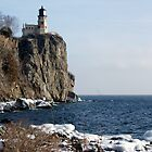 Split Rock Light House  by pshootermike