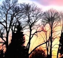 Dazzling Sunset Sticker