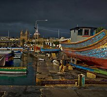 Awaiting Livery Marsa Xlokk Malta  by Edwin  Catania