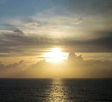 Sunrise at Sea by Jennifer Chan