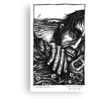 On the rocks... Canvas Print