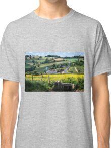Midsummer Smoke In An English Valley Classic T-Shirt