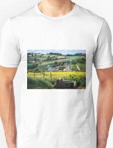Midsummer Smoke In An English Valley T-Shirt