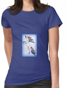 Unicorn Womens Fitted T-Shirt