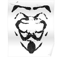 R for Rorschach Poster