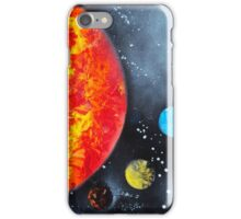 Spray Paint Art- Solar System iPhone Case/Skin