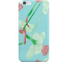 Watercolor summer pattern iPhone Case/Skin
