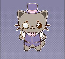 Fancy Cat by pai-thagoras