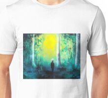 Spray Paint Art- Emerald Forrest Unisex T-Shirt