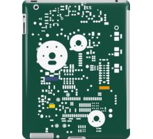 Motherboard Face - Green iPad Case/Skin