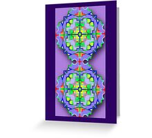 Card Pastel illusion Greeting Card