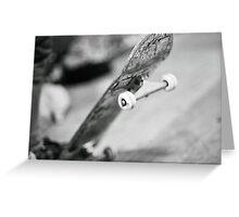 Vintage Skateboard film picture Greeting Card