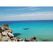 Mediterranean sea Photographic Print