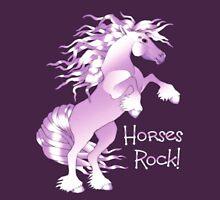Horses Rock Unisex T-Shirt
