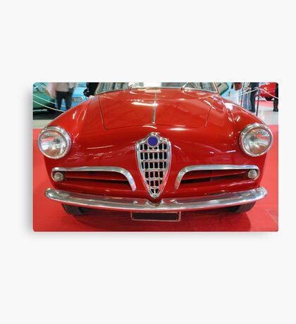 Vintage car.  Canvas Print