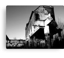 Demolition 2 Canvas Print