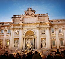 Trevi Fountain by Shir Leen Low