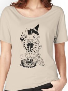 Witch Cat Women's Relaxed Fit T-Shirt