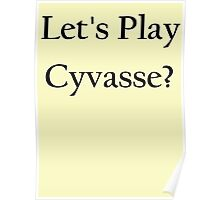 Let's play Cyvasse?  Poster