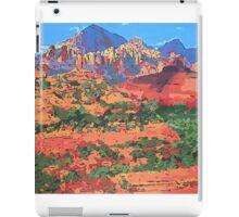 Sedona Arizona Red Rock Painting iPad Case/Skin