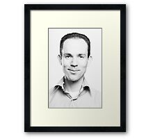 Hello world, this is me Framed Print