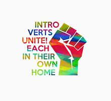 Introverts unite!  Unisex T-Shirt