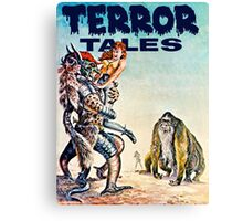 Terror Tales - Textless Cover Art 1 Canvas Print