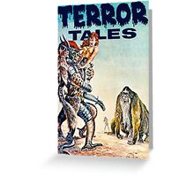 Terror Tales - Textless Cover Art 1 Greeting Card