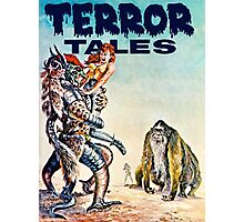 Terror Tales - Textless Cover Art 1 Photographic Print