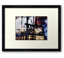 bryant street reflects Framed Print