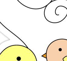 Birdies Sticker
