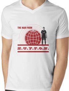 THE MAN FROM HUYTON Mens V-Neck T-Shirt