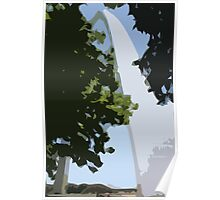 The Gateway Arch   Poster