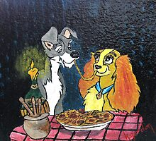 """""""And They Called It Bella Notte"""" by WhiteDove Studio kj gordon"""