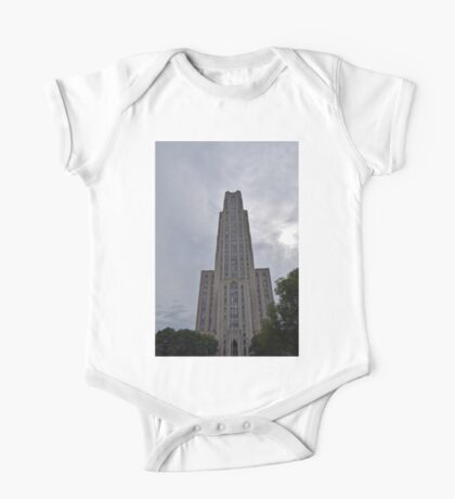 Pittsburgh Tour Series - Cathedral of Learning at PITT One Piece - Short Sleeve