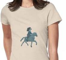 Coming to the Rescue Womens Fitted T-Shirt