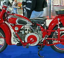 Vintage motorcycle by lollored