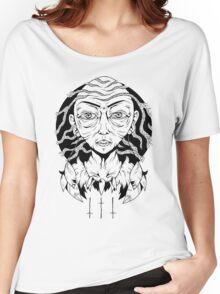 Face of Wisdom Women's Relaxed Fit T-Shirt