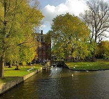 Park in Brugge by Béla Török